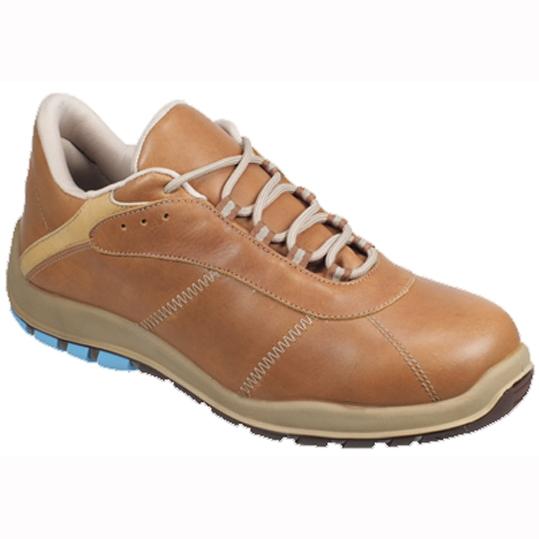 Zapato S3 C/Punt.-Plant. Panter Silverstone Cuero