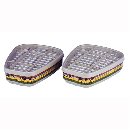 Recambio Filtro Gases y Vapores 3M ABEK1 6059