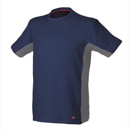 Camiseta Starter Stretch Azul/Gris