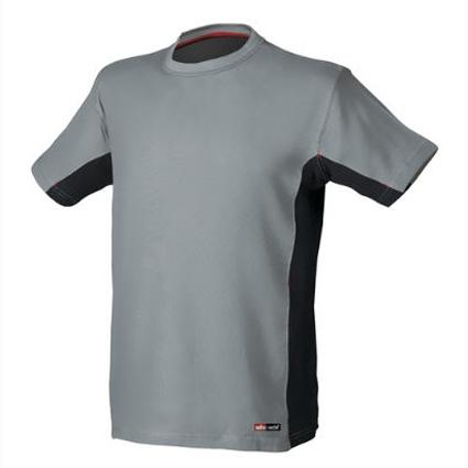 Camiseta Starter Stretch Gris/Negra